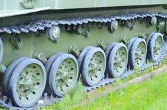 Часть следа танка Стоковое фото RF