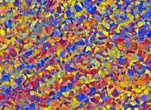 Часть сломанных предпосылок окна цветного стекла пестротканых Стоковые Фото