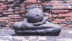 Часть тела песчаника Будды Стоковое Изображение RF