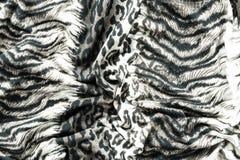 Часть ткани тигра одежд Стоковые Фотографии RF