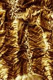Часть ткани тигра одежд Стоковое Изображение