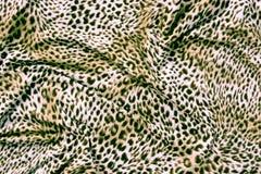 Часть ткани тигра одежд Стоковая Фотография