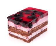 часть торта вкусная Стоковые Фото