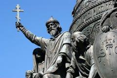 Часть тысячелетия памятника России, Velikiy Новгорода Стоковое Фото