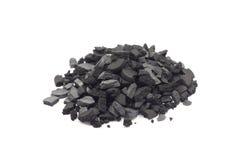 Часть угля стоковые фотографии rf