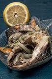 Часть душистых зажаренных в духовке рыб Стоковая Фотография