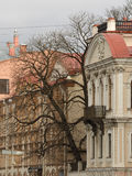 Часть улицы города Стоковые Фотографии RF