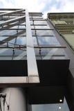 часть фасада дела здания самомоднейшая Стоковое Изображение