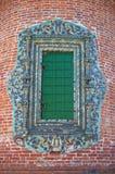 часть фасада молельни старая стоковые изображения