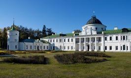 Часть фасада дворца в имуществе Kachanovka Чернигове regio Стоковое Изображение
