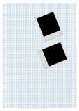 часть фото рамок бумажная придала квадратную форму 2 Стоковое Изображение RF