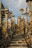 Часть холма крестов стоковая фотография