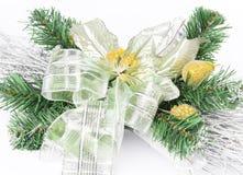 часть цветка украшения рождества Стоковые Изображения RF