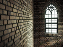 Часть церков окна Стоковое Фото