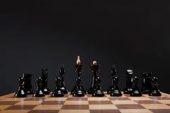Часть шахмат на борту Стоковая Фотография