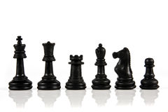 часть шахмат Стоковое фото RF