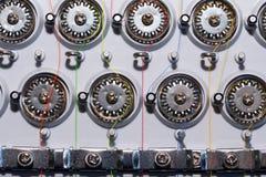 Часть швейной машины, электрического типа Стоковые Фото