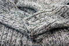 Часть шерстей knittet. стоковая фотография
