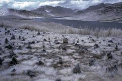 часть Шотландия гористой местности северная Стоковая Фотография