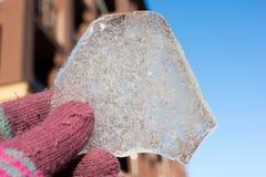 часть льда Стоковое Изображение RF