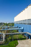Часть электростанции жары Стоковое Фото