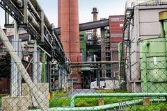 Часть электростанции стоковые фото