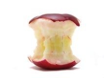 часть яблока стоковая фотография