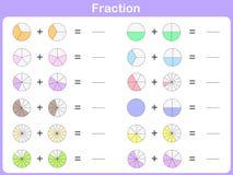Часть для образования иллюстрация вектора