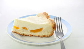 часть cheesecake Стоковые Фотографии RF