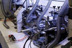 Часть edgebanding машины Стоковые Фотографии RF