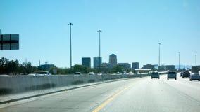 Часть Interstate-10 в Tucson, американский юго-запад Аризоны Стоковое Изображение RF