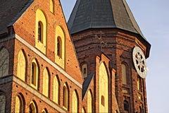 часть kaliningrad собора Стоковое Фото