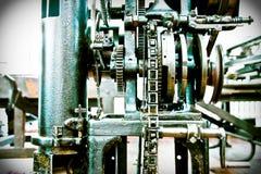 часть maschine ткани Стоковые Фотографии RF
