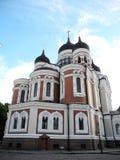 часть nevsky tallinn стран собора Александра прибалтийская Стоковая Фотография RF