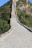 Часть Simitai лестниц Великой Китайской Стены больших Стоковые Фото