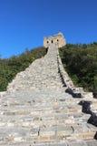 Часть Simitai красивая шагов лестниц Великой Китайской Стены больших Стоковая Фотография