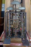 Часы антиквариата Uncoverred Стоковое Изображение RF