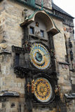 часы башни города Праги Стоковые Изображения
