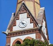 Часы башни стоковое изображение