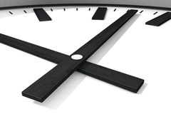 Часы близкие вверх 2 иллюстрация вектора