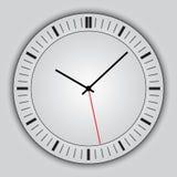 Часы вектора абстрактные простые круглые Стоковое Изображение RF