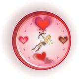 часы влюбленности Стоковые Изображения RF