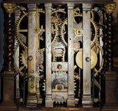 часы внутрь Стоковые Фотографии RF