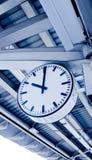 Часы вокзала Стоковые Фотографии RF