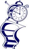 часы волшебные Стоковое Изображение