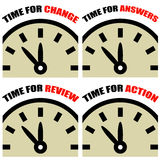 Часы времени Стоковые Фотографии RF