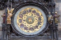 Часы в Праге Стоковые Фото