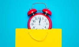 Часы в сумке Стоковые Фотографии RF