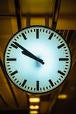 Часы города Стоковое Изображение