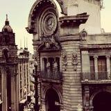 Часы города Стоковое Фото